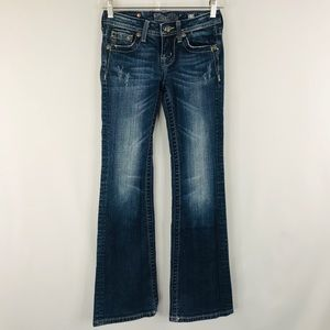 Miss Me Bottoms - Miss Me girls boot cut jeans SZ 12